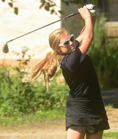 prep girls golf portage has career day in 5 shot win over deforest