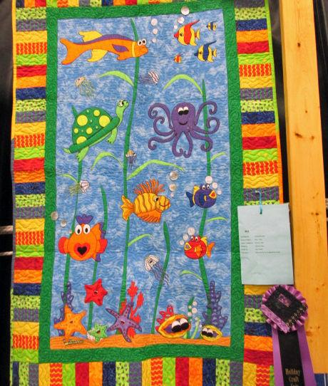Elroy quilt show winners