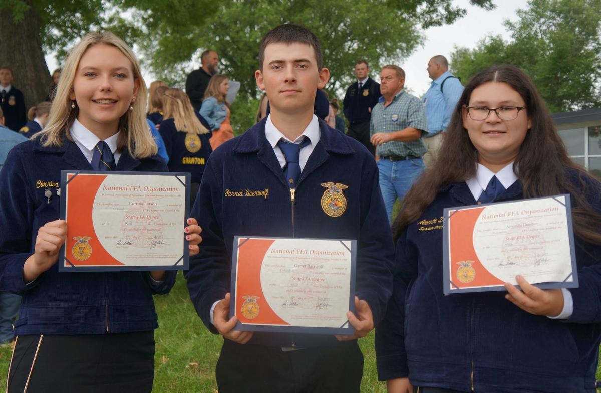 FFA diplomas
