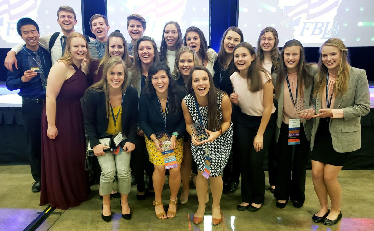 National FBLA qualifiers from Portage
