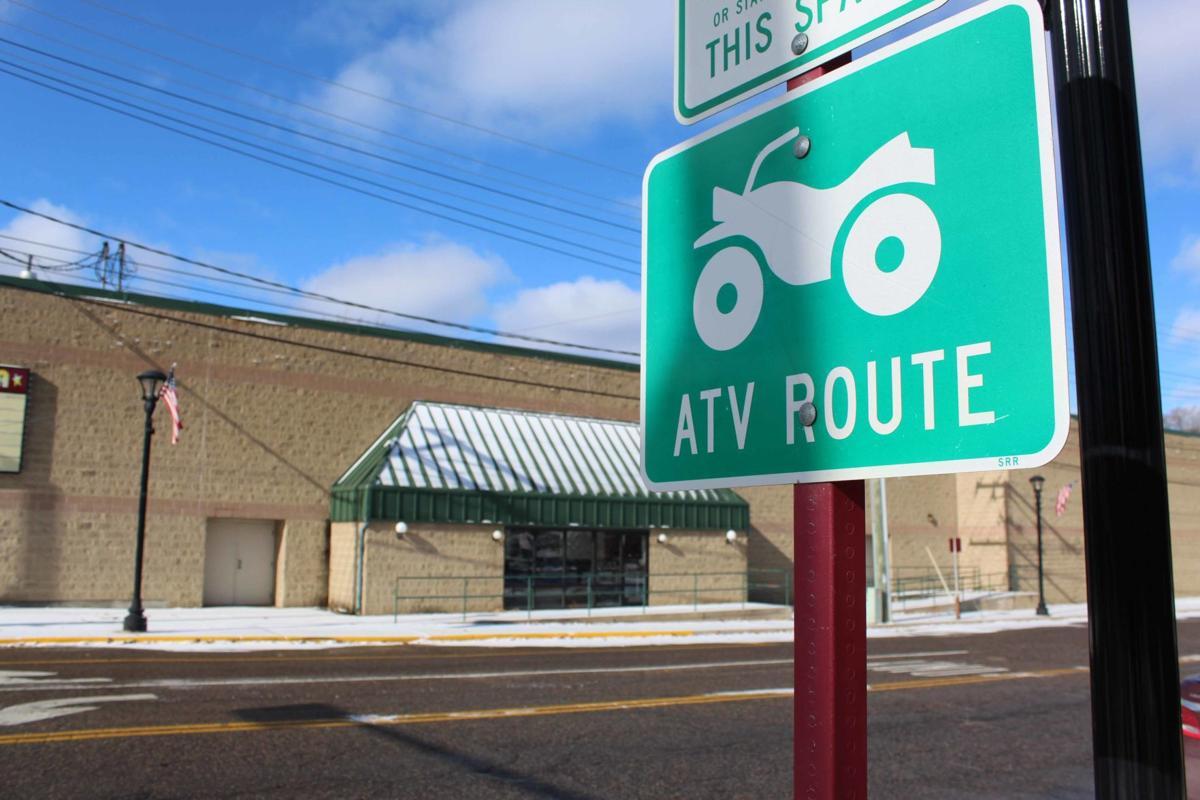 Webb Avenue ATV sign