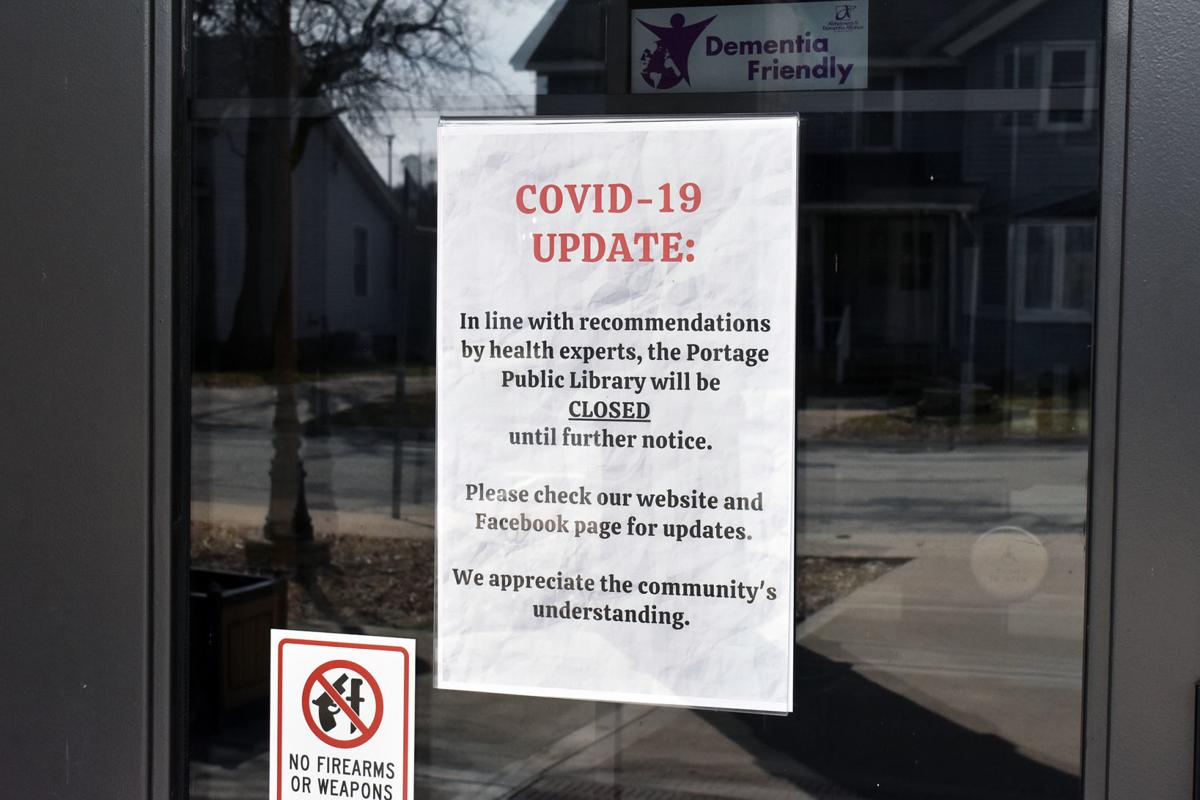 Portage Library closed but offering curbside pickup (copy)