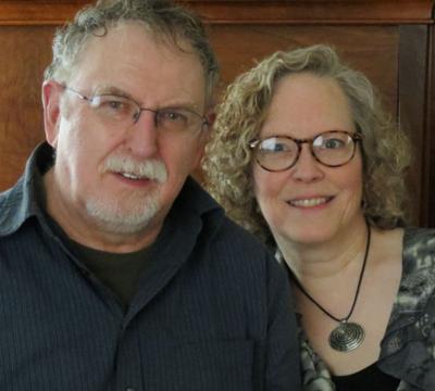 Paddy O'Brien and Erin Hart