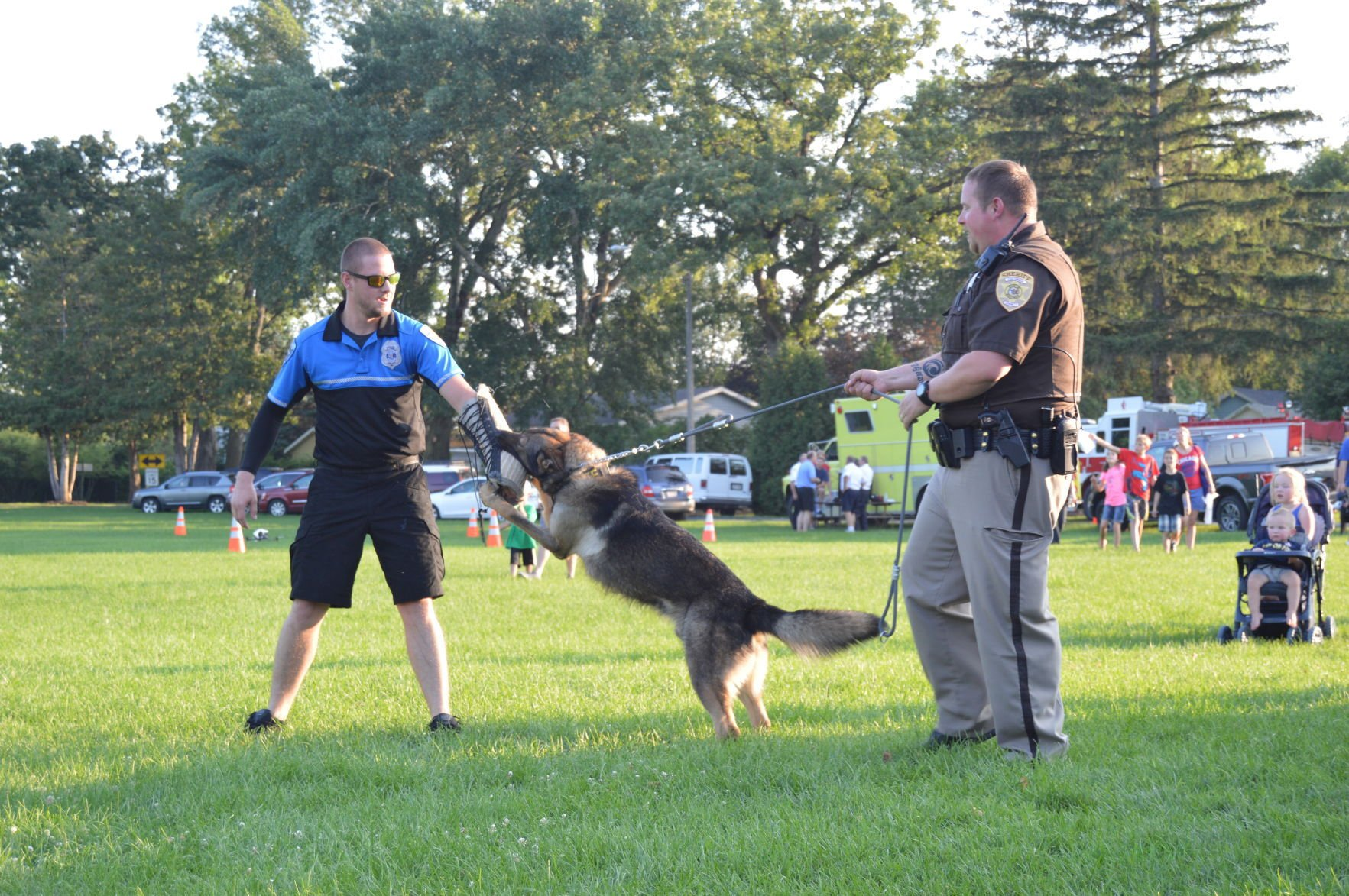 National Night Out brings crime prevention awareness to Cloverdale