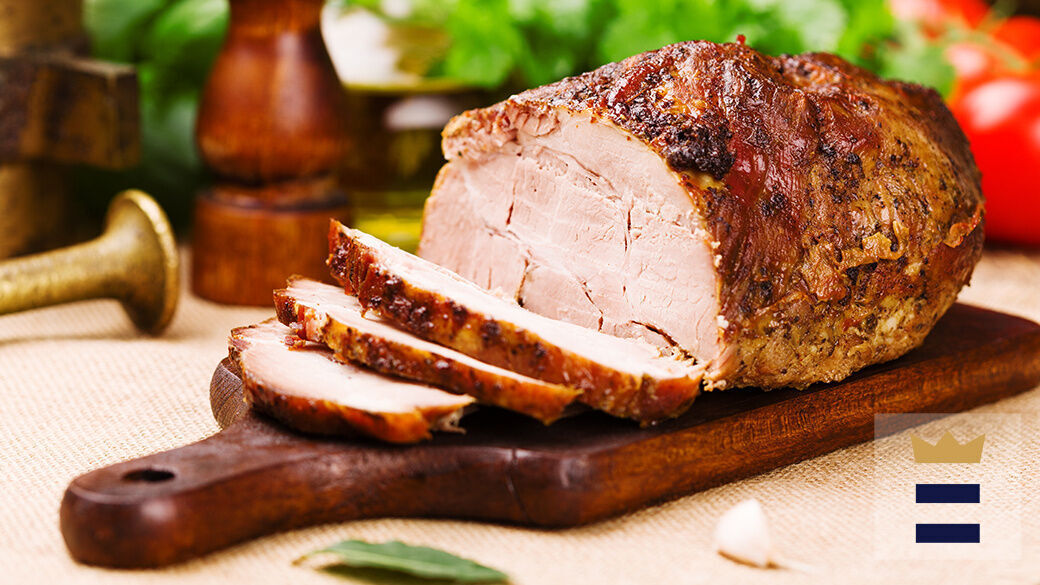 According to the USDA, whole cuts of pork need to be cooked until it reaches 145 degrees with an additional 3 minutes of rest time.