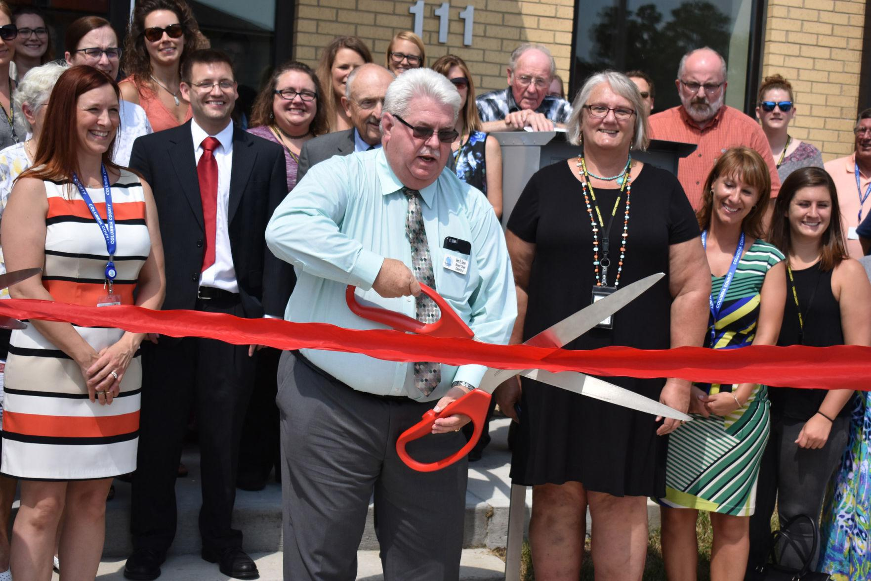 August 2018 -- HHS ribbon cutting (copy)