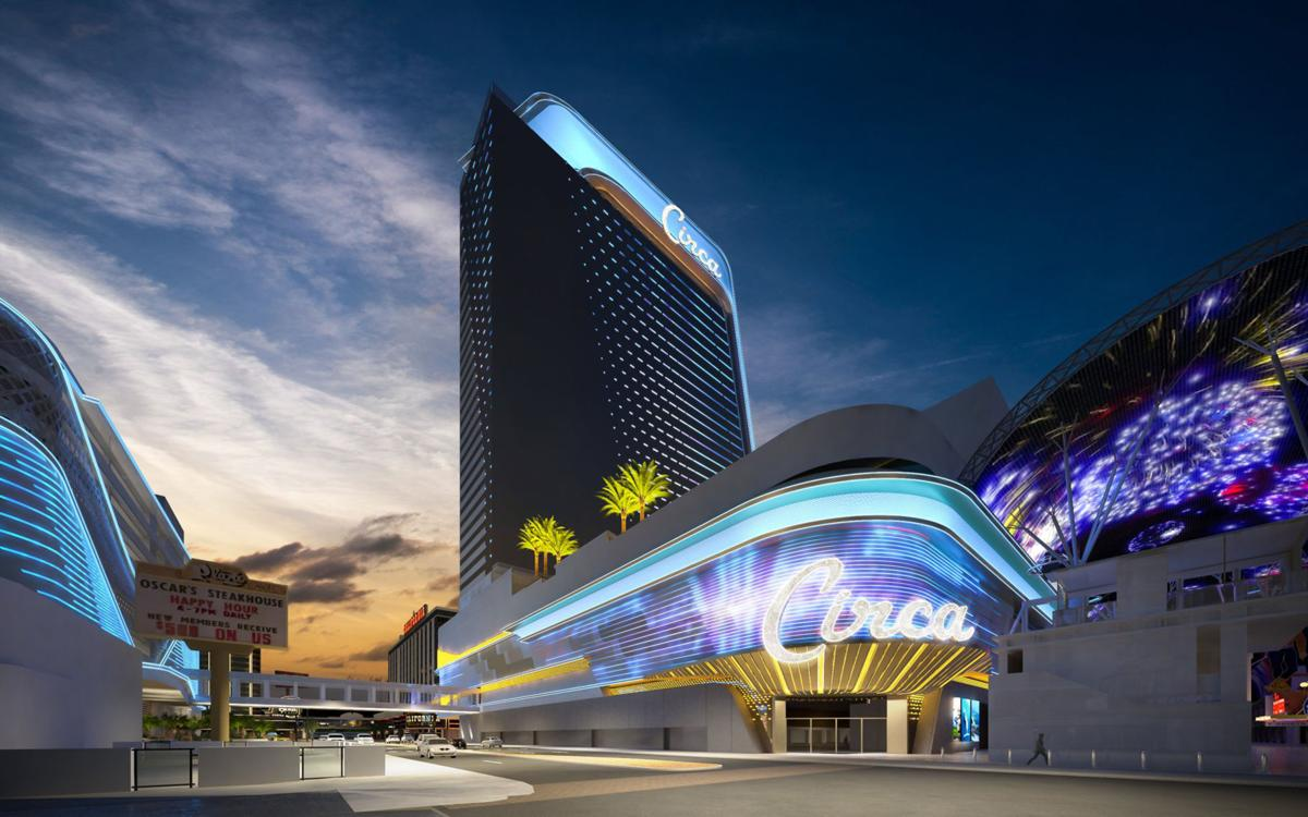 Circa Resort & Casino is the first new-built hotel-casino in downtown in about 40 years.