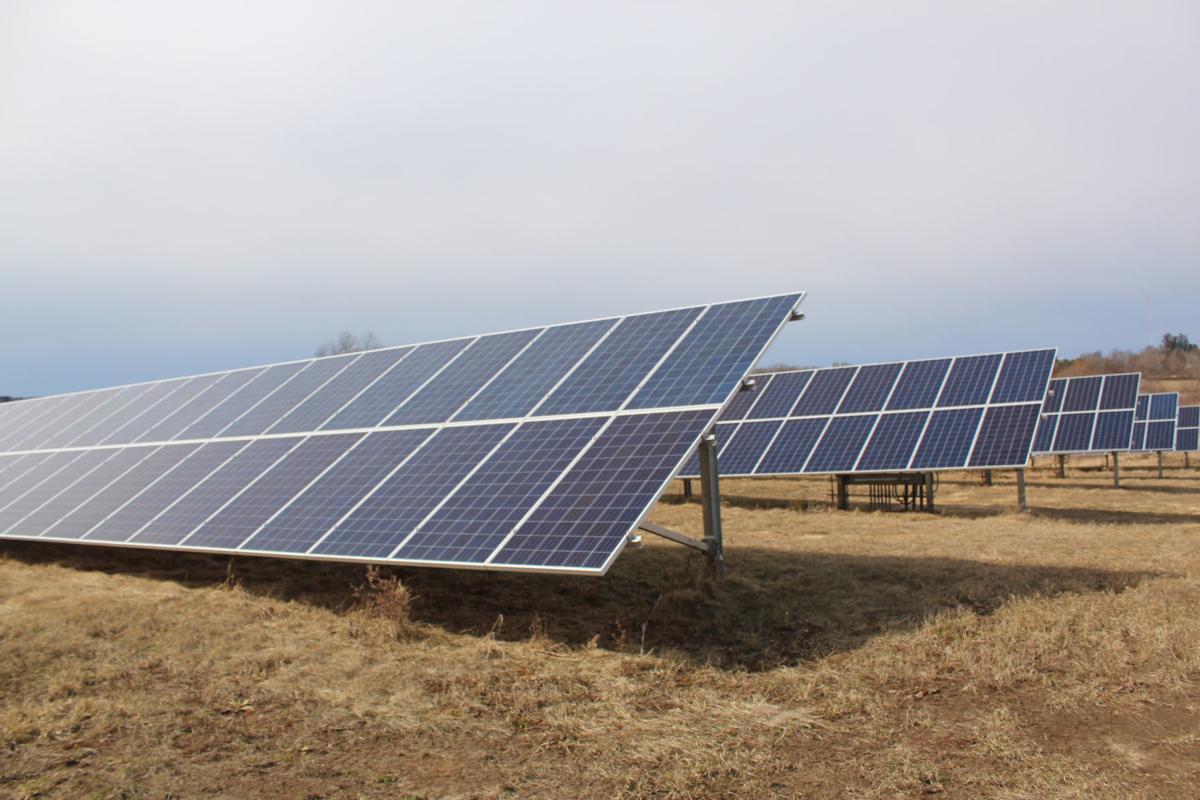 Solar panels at Sauk County Health Care Center2