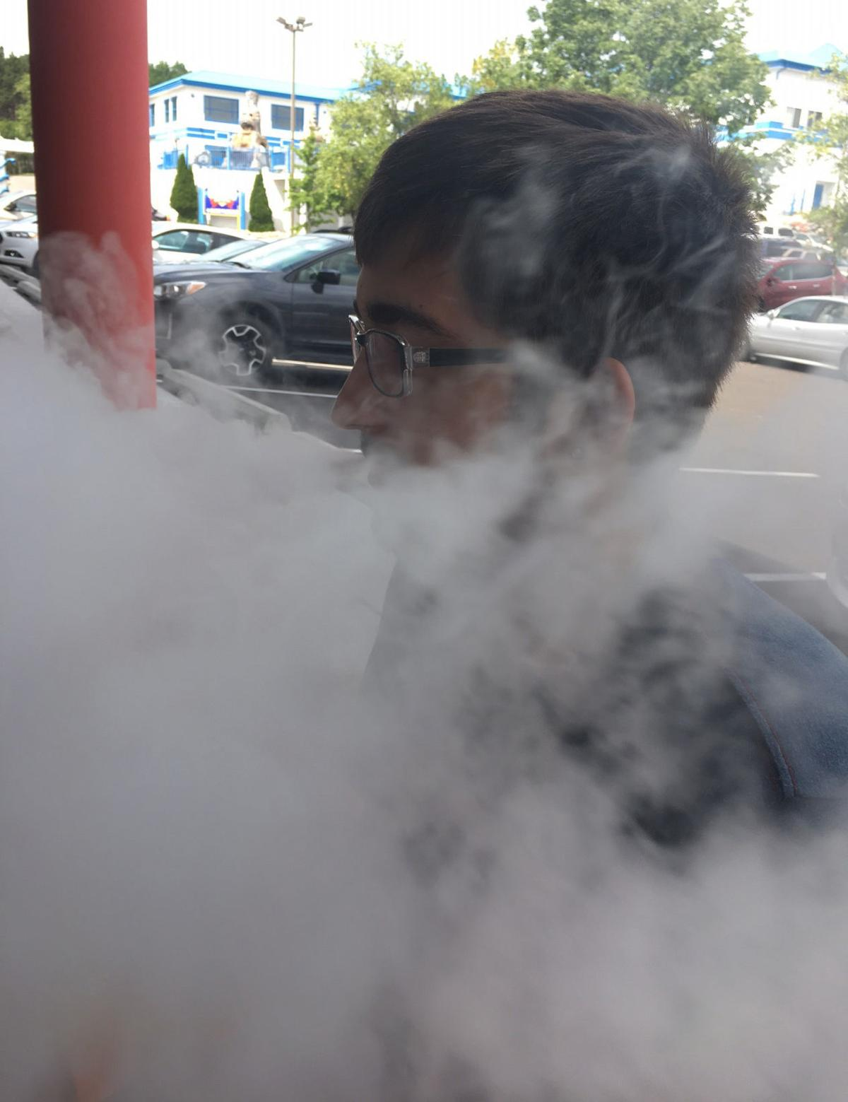 Vaping gains a foothold in region