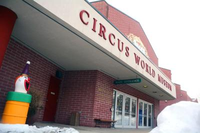 Burglar damages Circus World offices