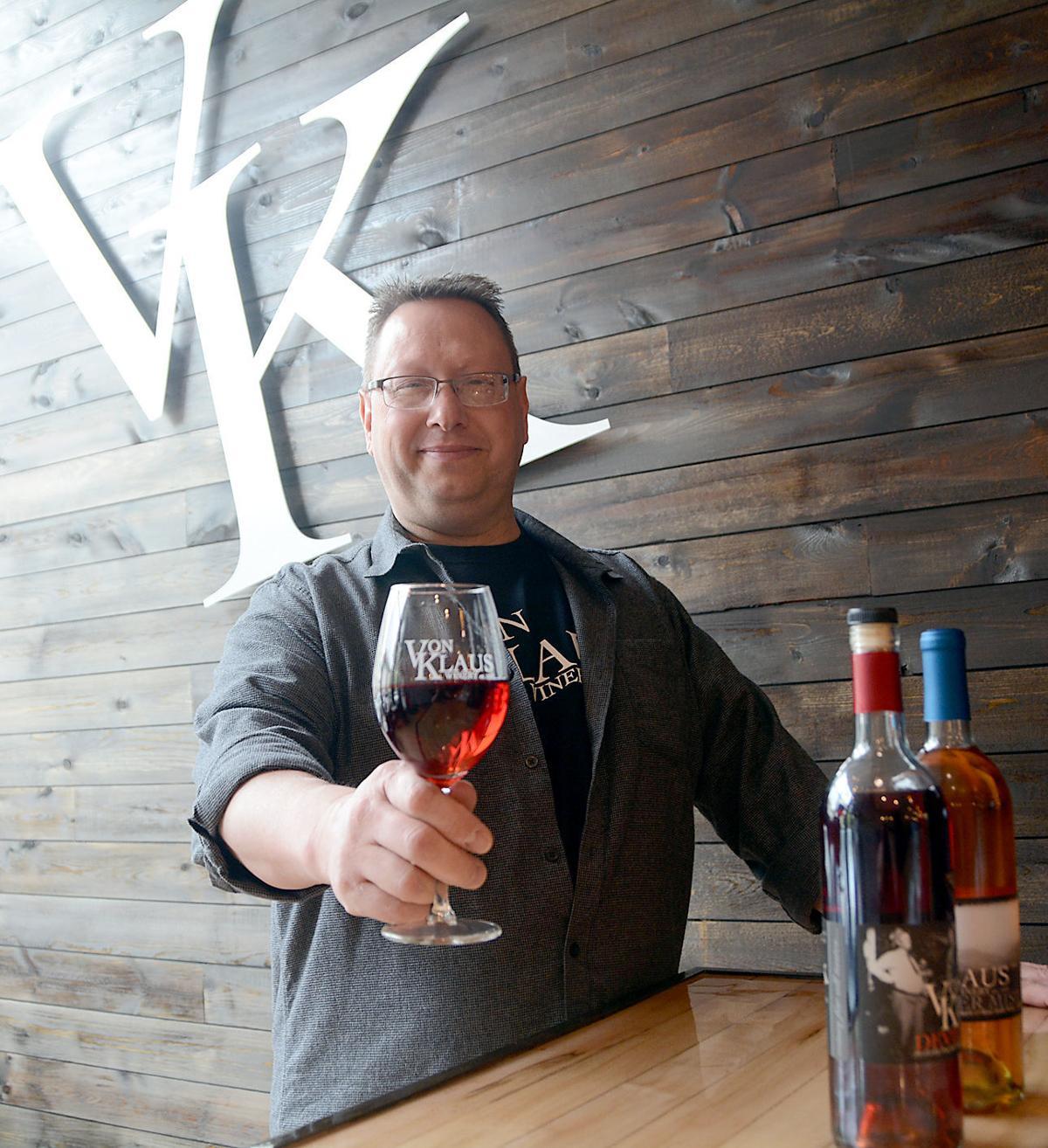 Von Klaus Winery tasting haus