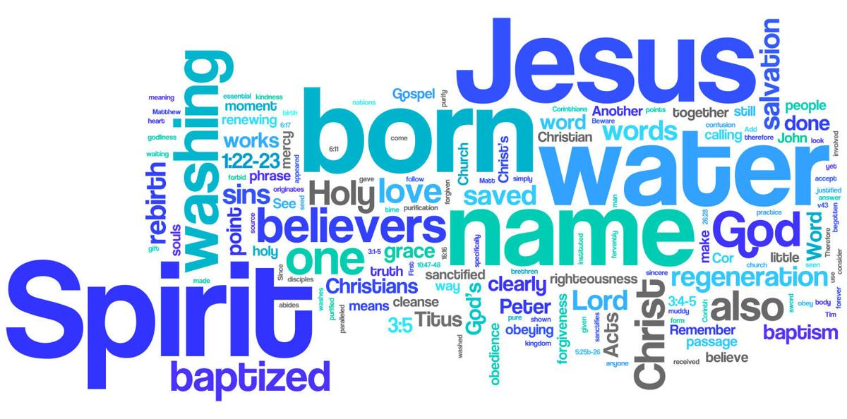 baptism it s serious faith and values