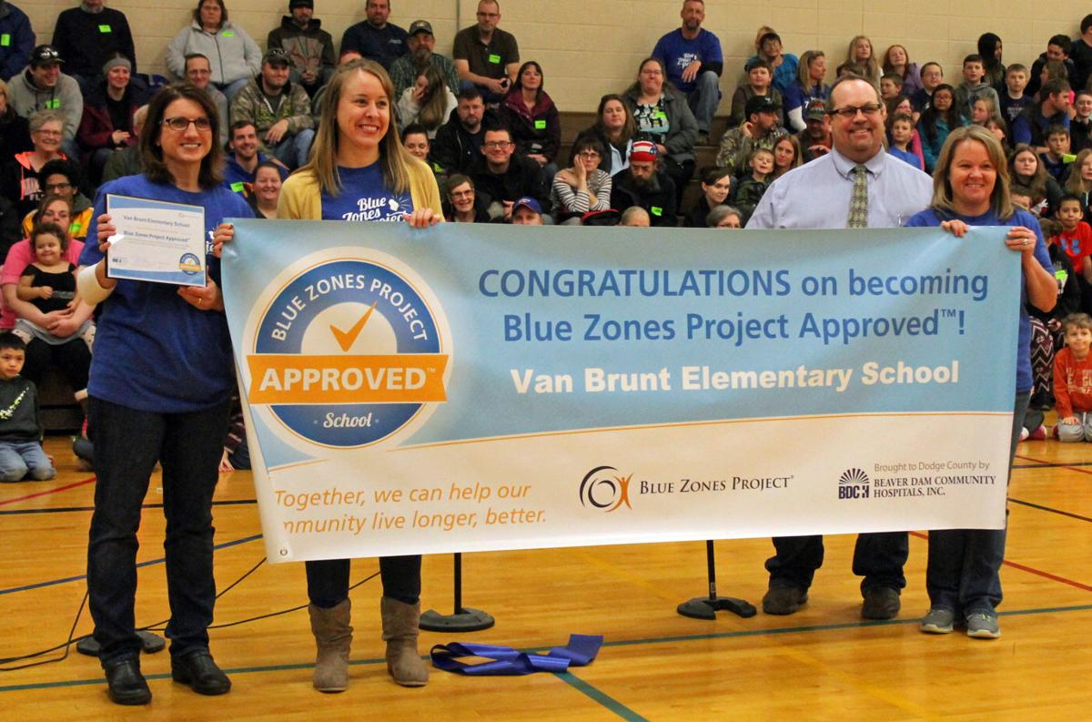 Van Brunt Elementary becomes Blue Zones approved