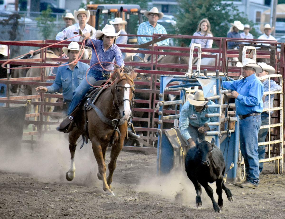 Caden Borman gallops on horseback (copy)