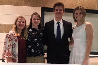 $4,500 in scholarships divided between five Lions recipients