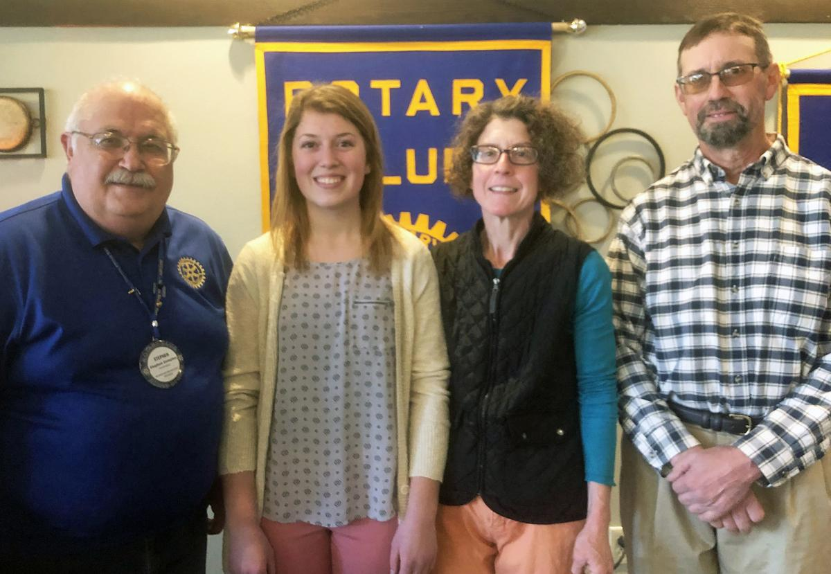 Bass becomes rotary January student of the month