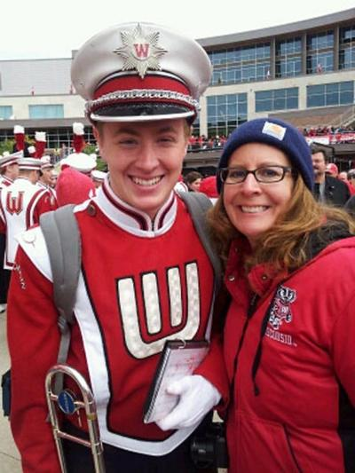 Shawn Laursen accepted into UW-Madison Marching Band Sept. 2012