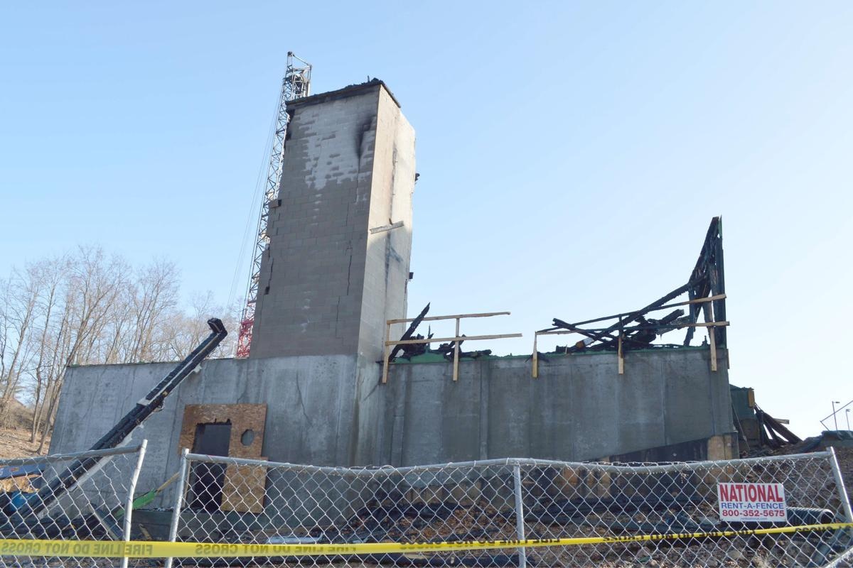 Fire destroys Lake Delton dormitory under construction, damage