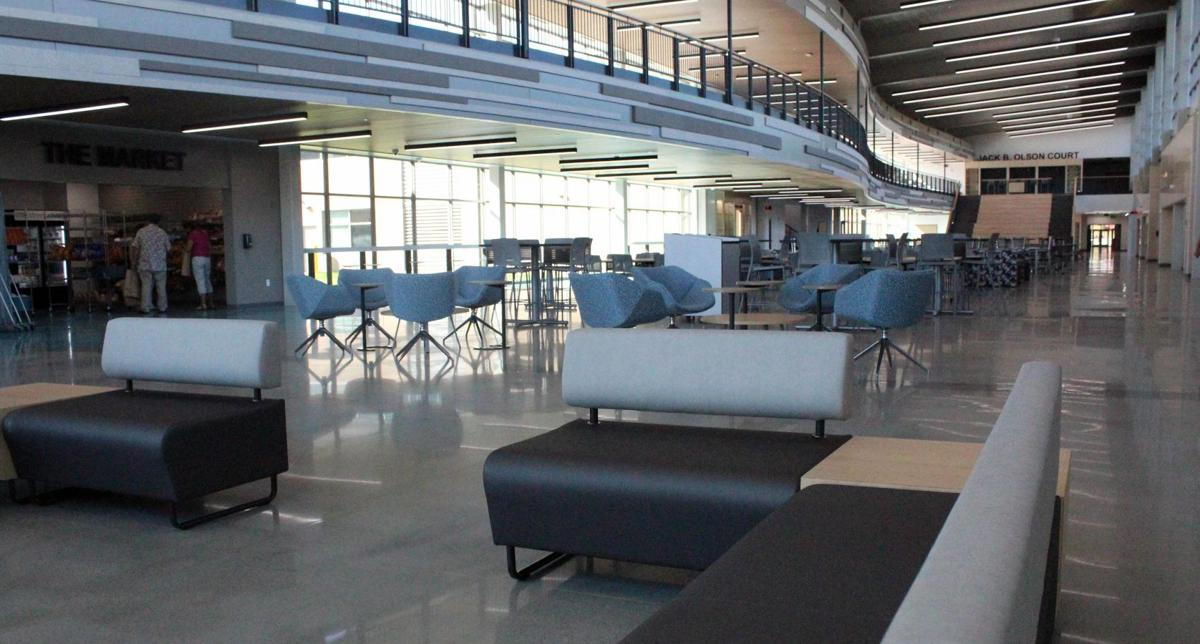 Dells new high school commons and cafeteria (copy) (copy)