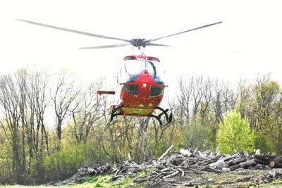 UW Med Flight helicopter inbound (copy)