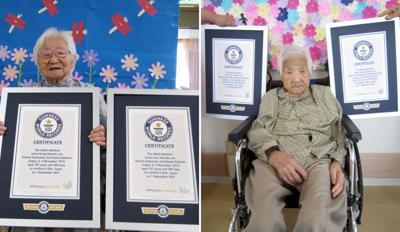 Japan Oldest Twins