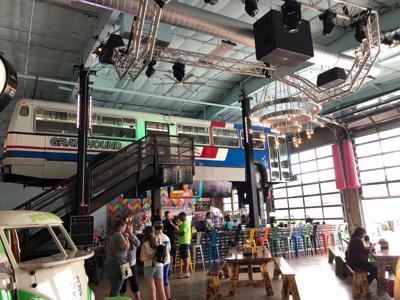 Diners rewind at Grateful Shed, a taste of Madison in the Dells