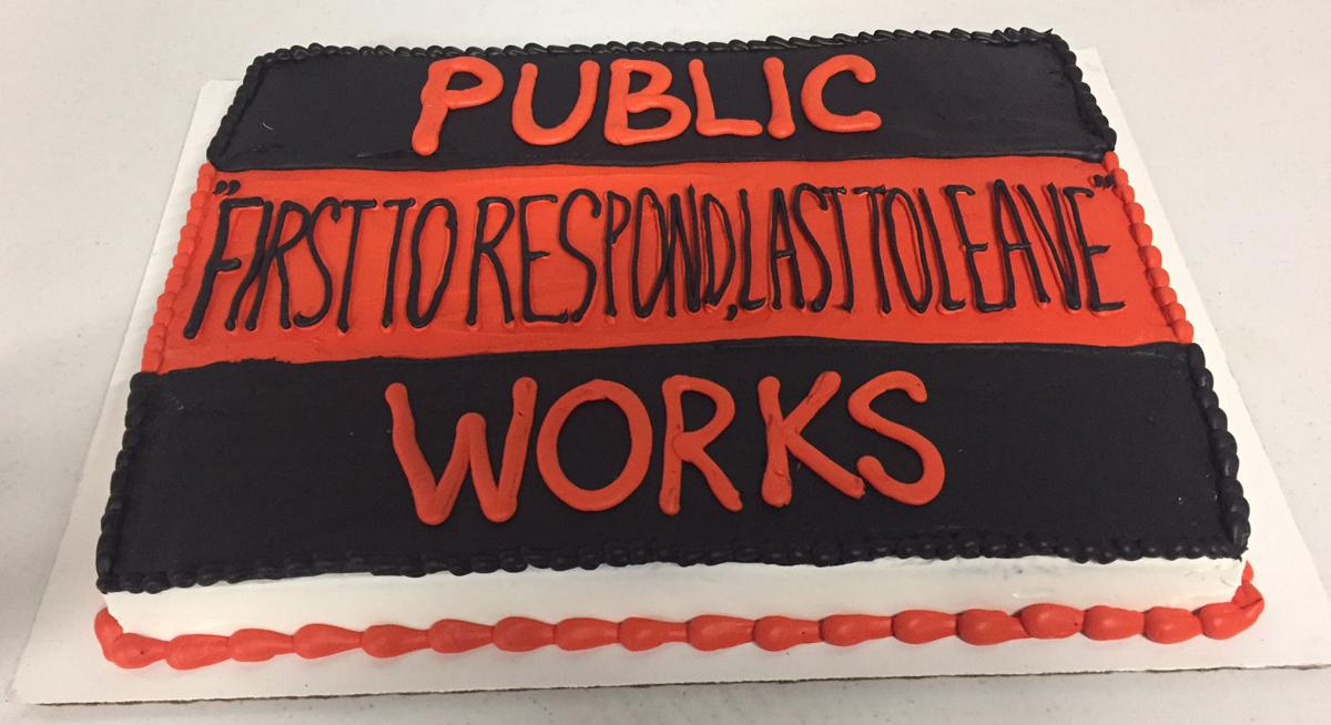 PUBLIC WORKS CAKE