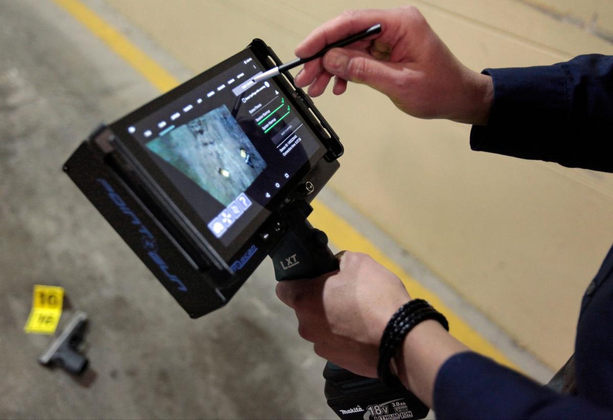 Handheld LiDAR scanner