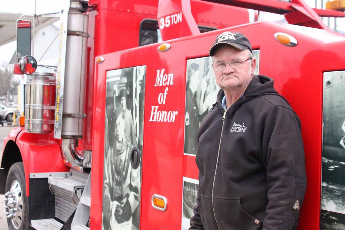 Steve by truck 1