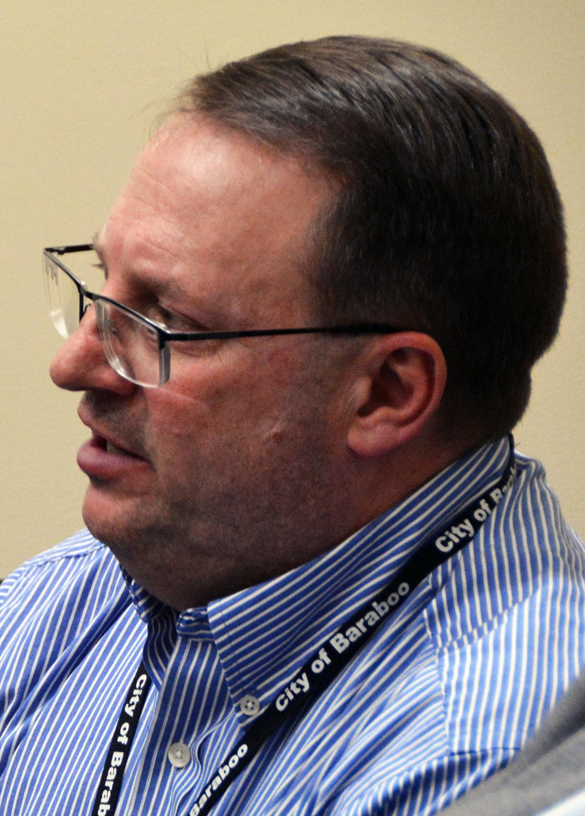 Tom Pinion, Baraboo director of Public Works
