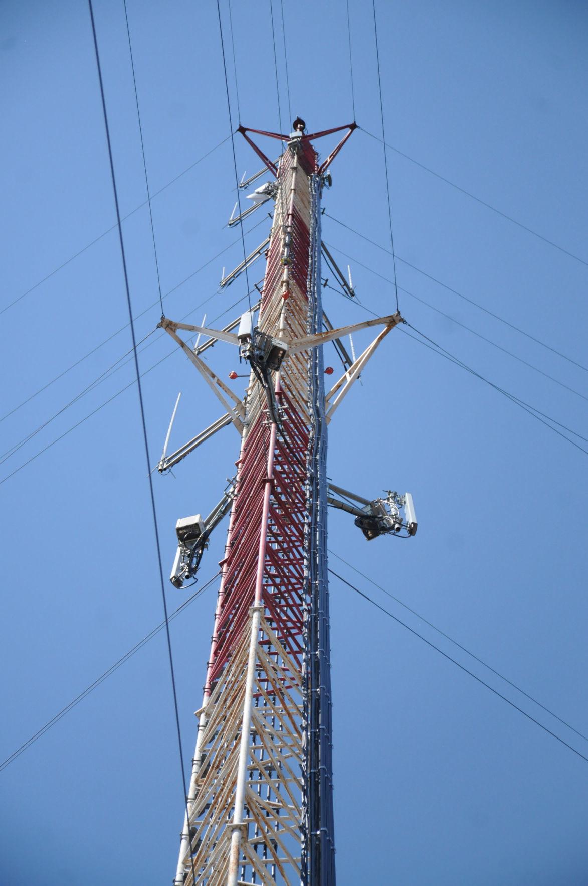 Sauk County communication tower