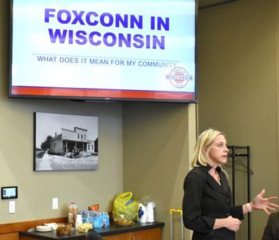 Foxconn secretary
