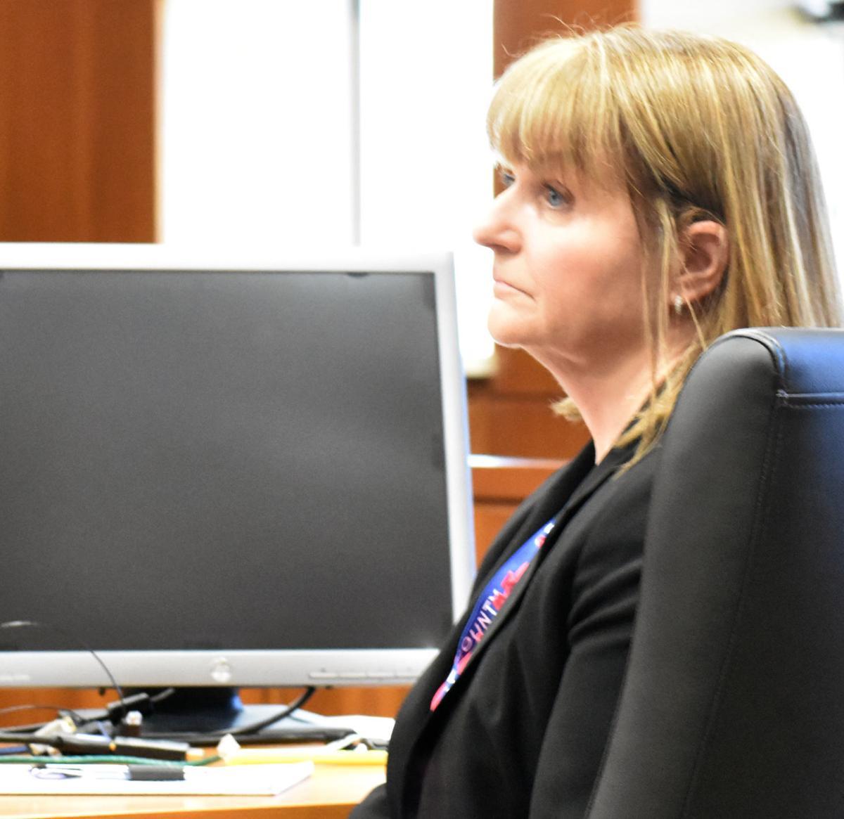 Mary Ellen Karst back in courthouse