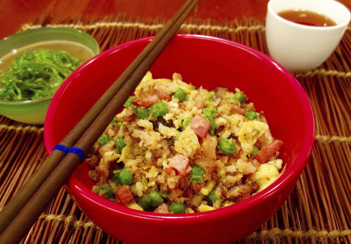 Food KitchenWise Fried Cauliflower Rice