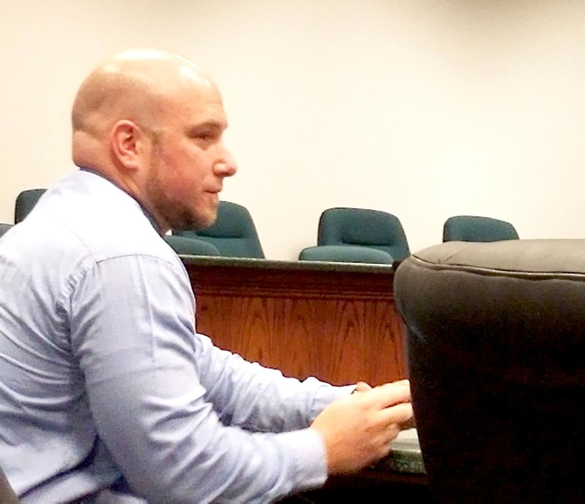 Former Mayville police officer enters not guilty plea to child (copy)