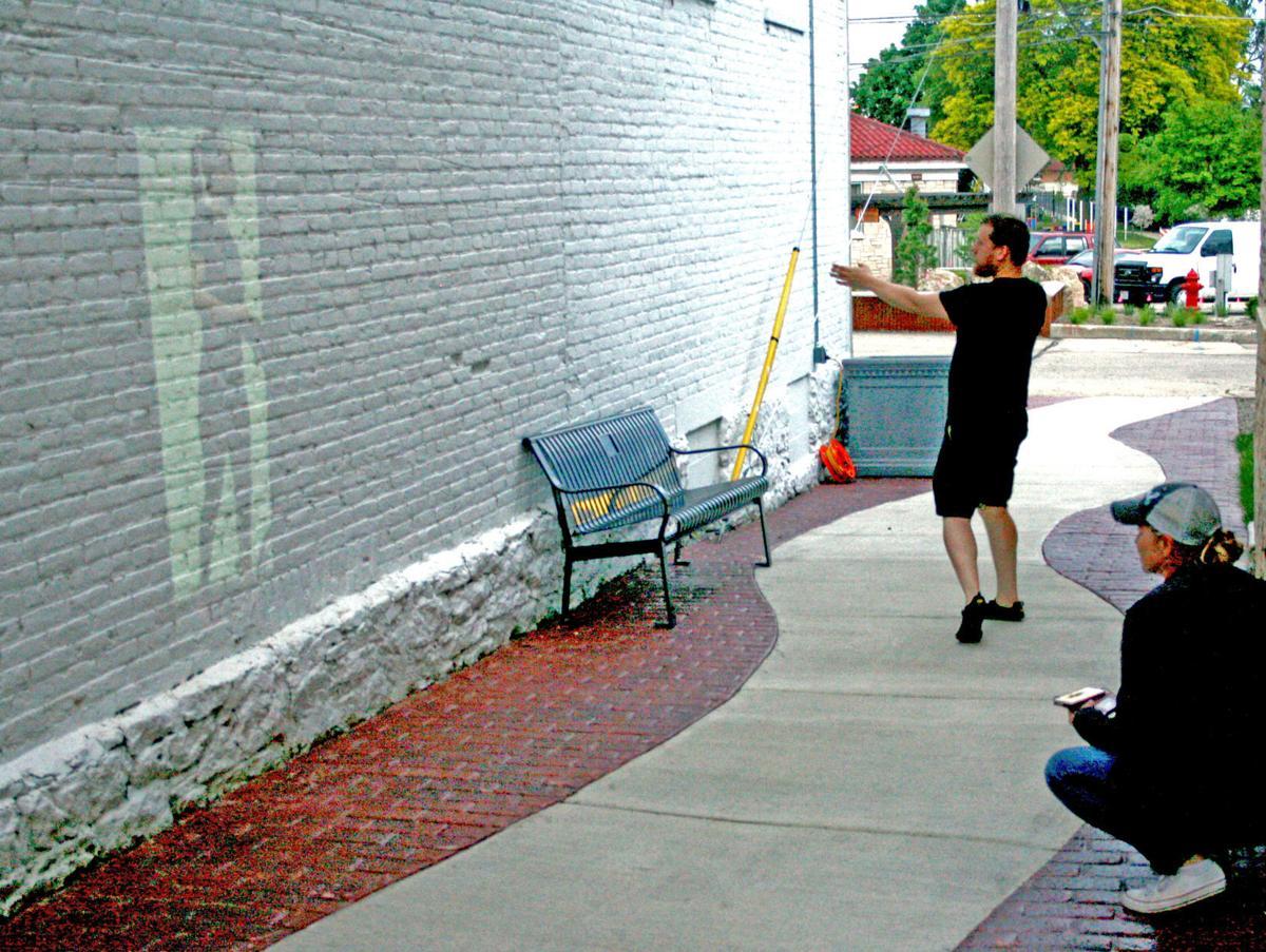 downtown walkway mural