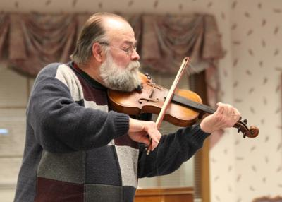 Bauman performs at Terrace Heights