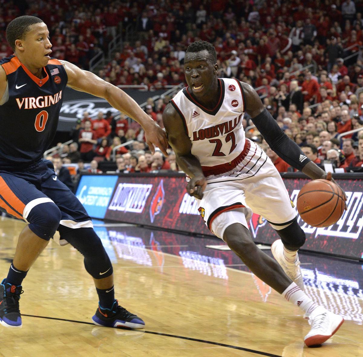Virginia Louisville Basketball