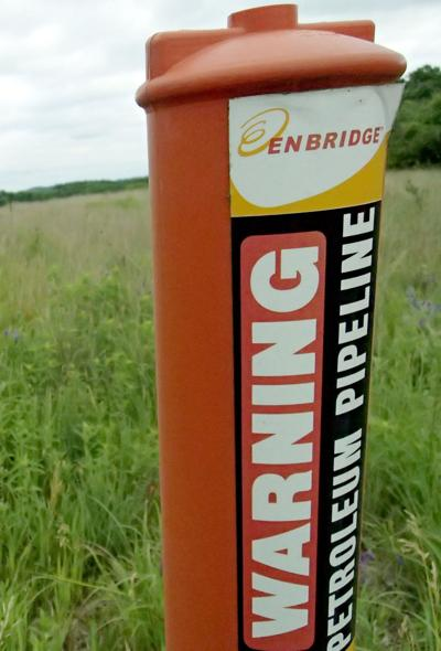 Enbridge pipeline in Columbia County