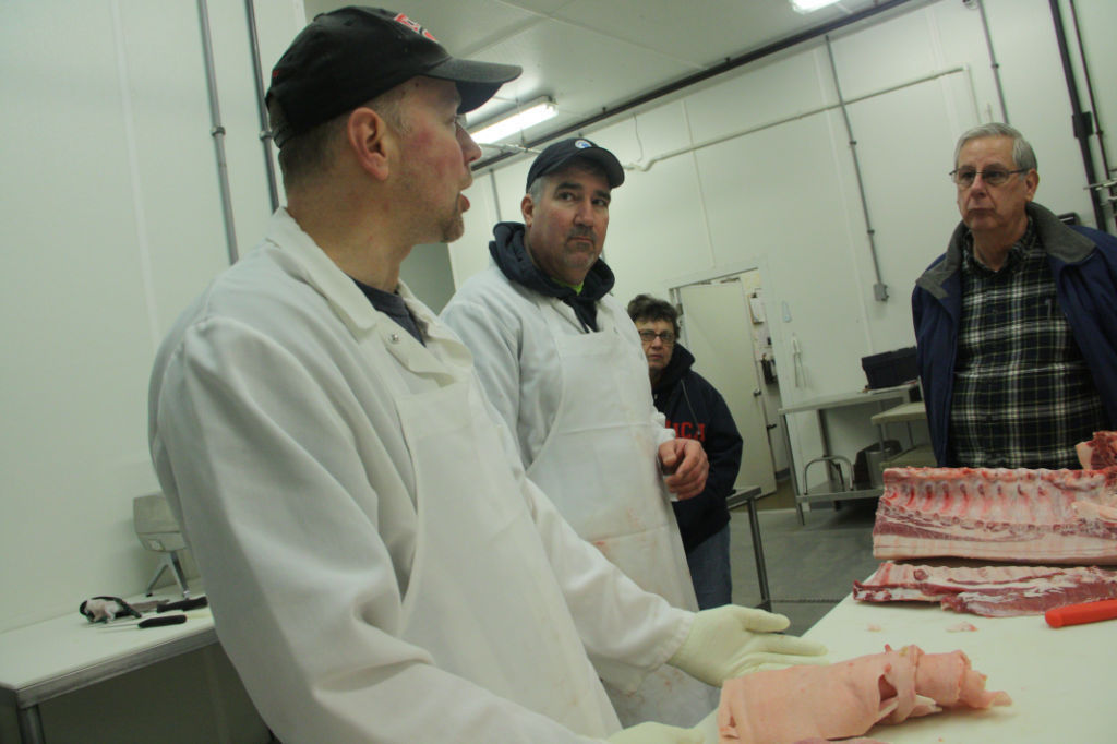 Local meat cutters hog the spotlight