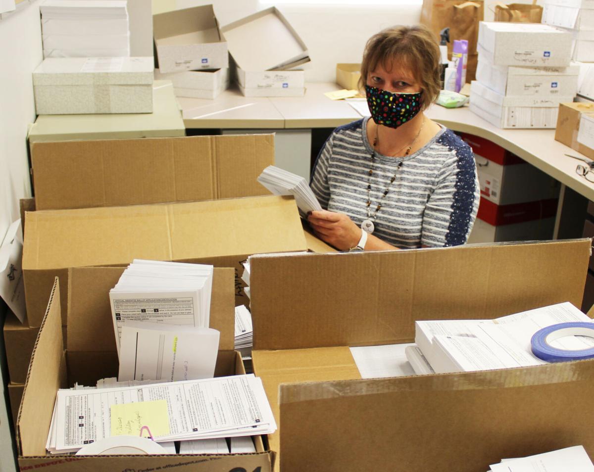 Absentee ballots in hyper drive