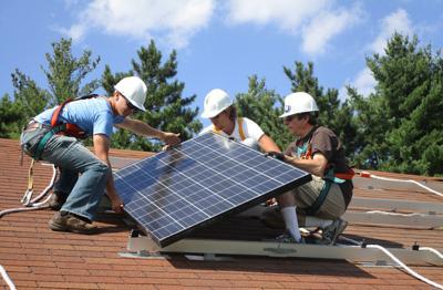 Installing solar panels (copy)