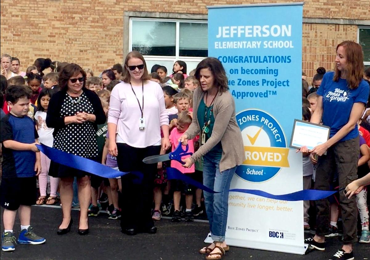 Jefferson Elementary designated as Blue Zones approved