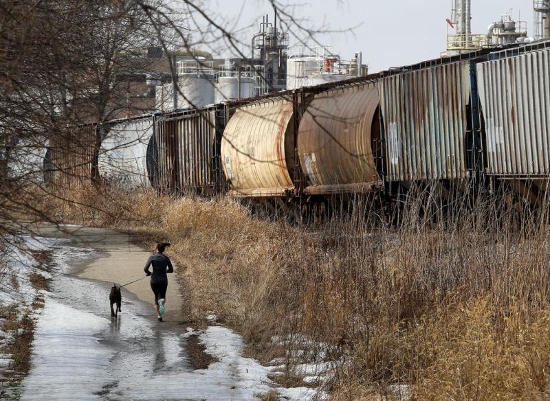 landmark train cars