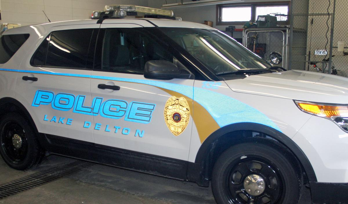 Lake Delton Police Department squad car web only wiscnews