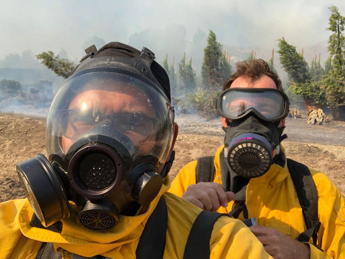 California Wildfires Behind The Lens