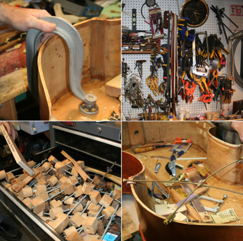 Clamps, clamps and clamps