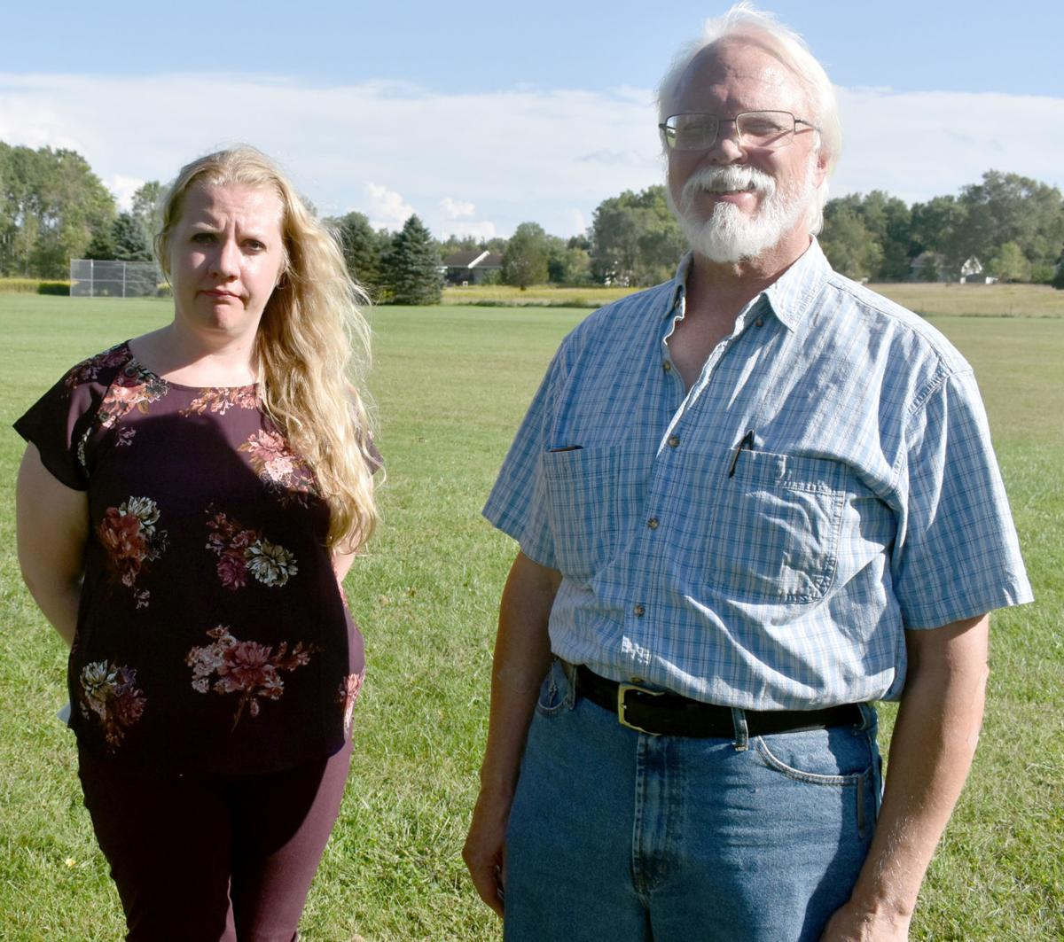 Portage residents upset about dead crane