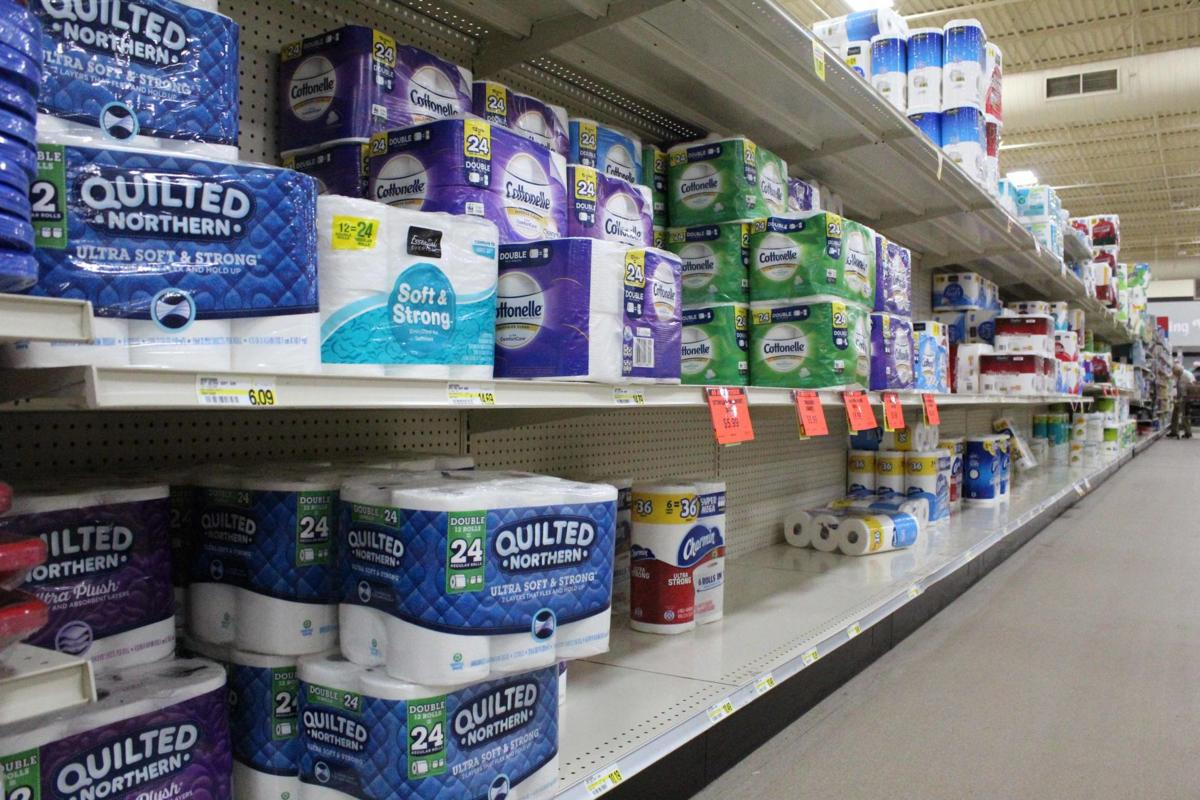 Toilet paper at Viking Village Foods