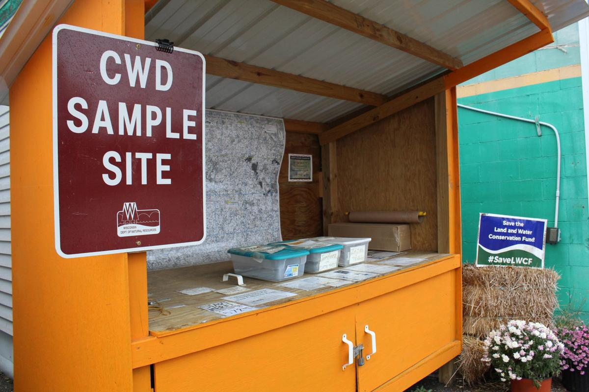 CWD test site in La Valle